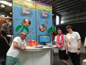Tasty Fish developers at PAXAus 2013.
