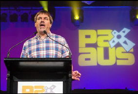 Ron Gilbert at PAX Aus